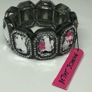 Betsey Johnson Stretch Bracelet